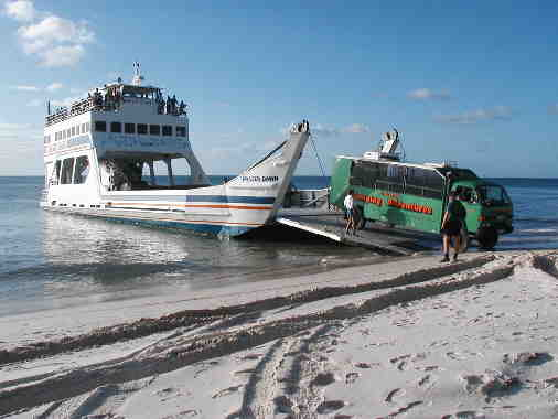 how to get to fraser island ferry