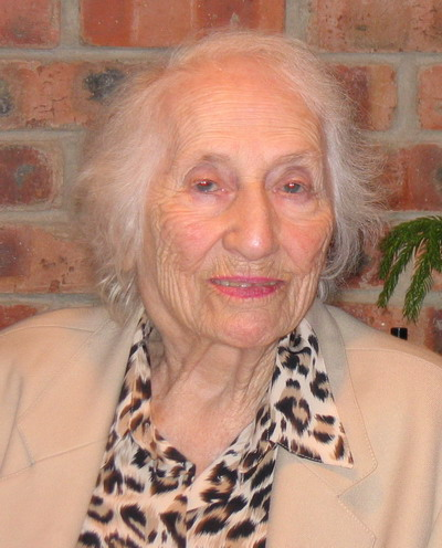 Berenice Engleberg at 90th birthday