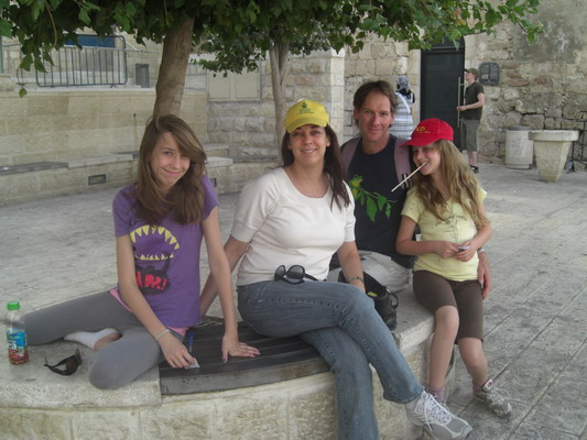 In Jerusalem with the Rons