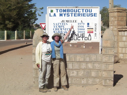 at the entrance to timbuktoo